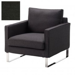 Ikea Accent Chair Covers Rocking Replacement Cushions Mellby Armchair Slipcover Cover Dansbo Dark 5aac06ef35cae 54622n Jpg