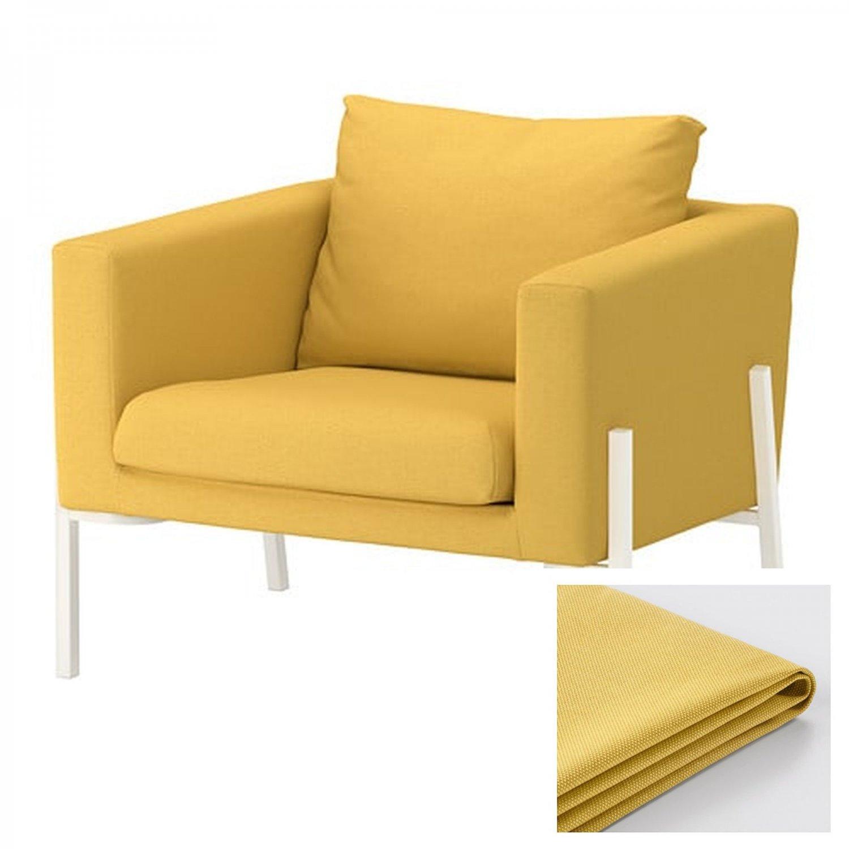 Ikea Koarp Armchair Slipcover Chair Cover Orrsta Golden Yellow Yellow