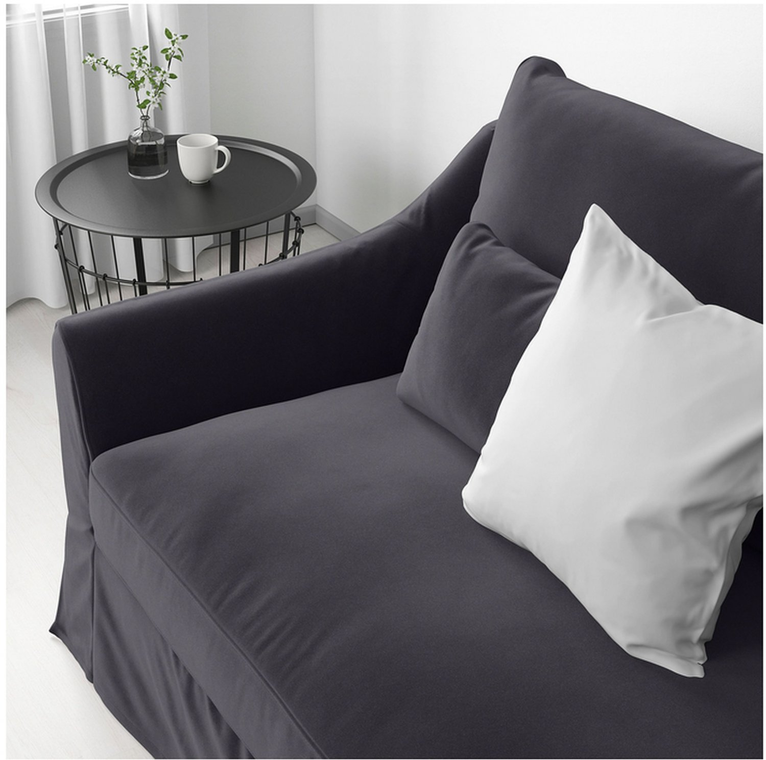 Ikea fabric corner sofas include features like memory foam and armrests with extra. IKEA Farlov 5 Seat Left Sectional Sofa SLIPCOVER 3+2 ...