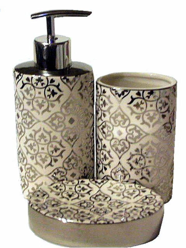 wine themed kitchen accessories splash guard white bath silver mirror scrolling 3 pc. set