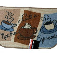 Coffee Kitchen Rugs Target Mocha Latte Espresso Rug Cups Mat