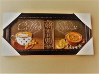 Coffee Cups Espresso Cafe Kitchen Wall Decor