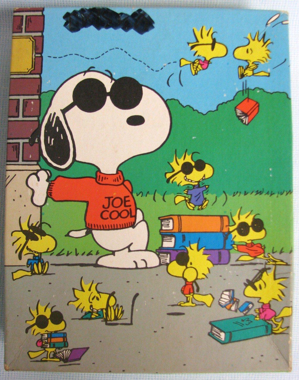 Peanuts SNOOPY Joe Cool Jigsaw Puzzle Golden