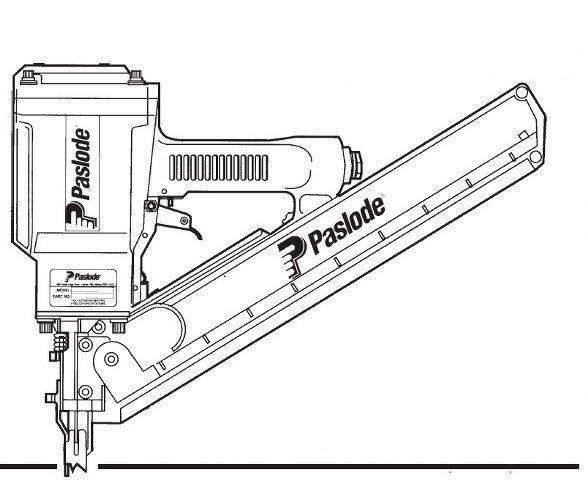 Paslode 5325/80 Framing Nailer O ring + 402011 Seal Kit