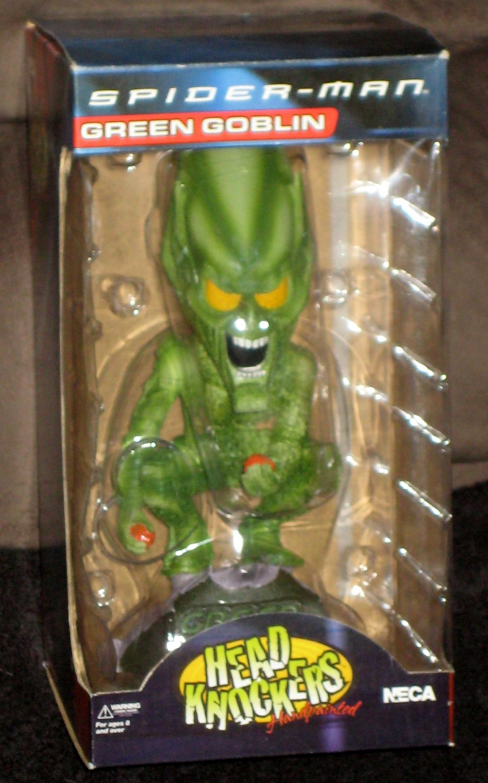 SOLD Green Goblin Bobblehead Head Knockers Bobble