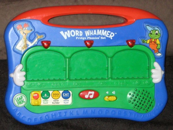 Sold Leapfrog Fridge Phonics Word Whammer Replacement Spare Unit With Batteries Leap Frog Magnetic