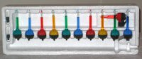SOLD Mini Miniature Bubble Lights Set 2 Inch Tubes ...