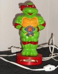 SOLD Teenage Mutant Ninja Turtles TMNT Raphael Night Light ...