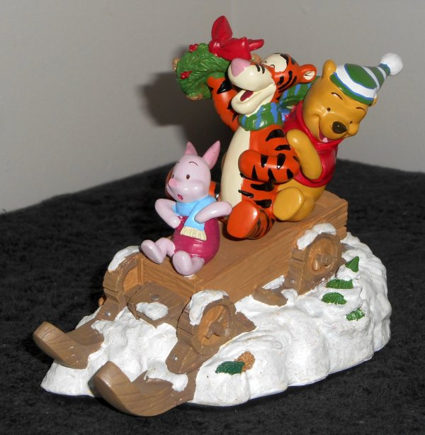 Sold Winnie Pooh Stocking Holder Hanger Piglet Tigger