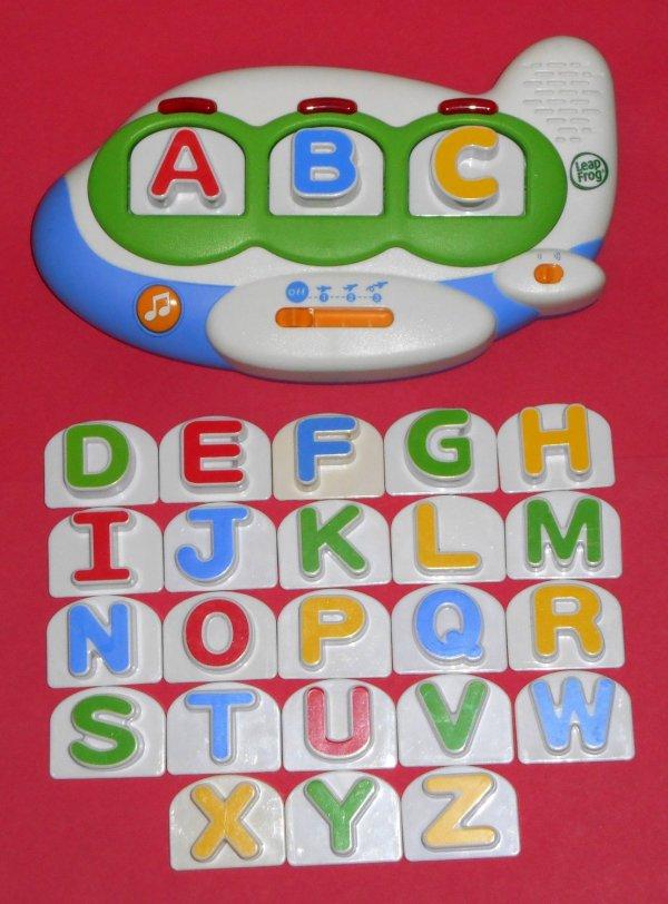 Sold Leap Frog Fridge Phonics Magnetic Farm Barn Word Builder Airplane Unit Upper Case Letters