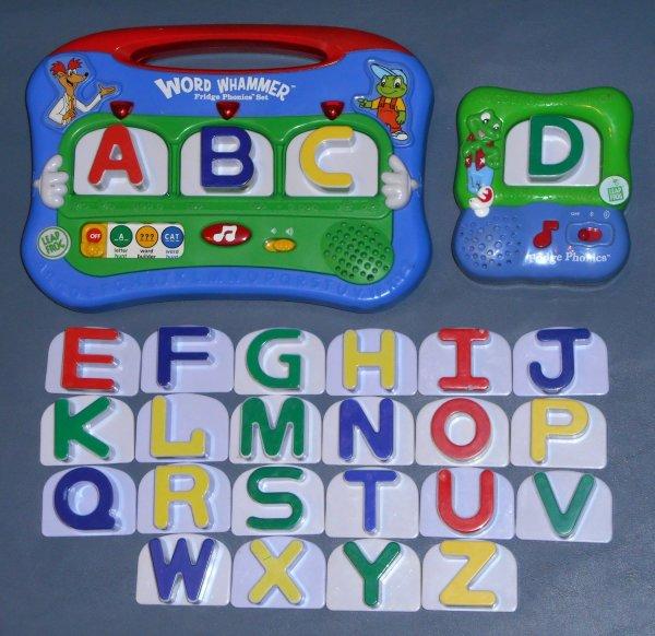 Sold Leap Frog Leapfrog Fridge Phonics 26 Letter Set Word Whammer Unit 20320 20305 Magnetic