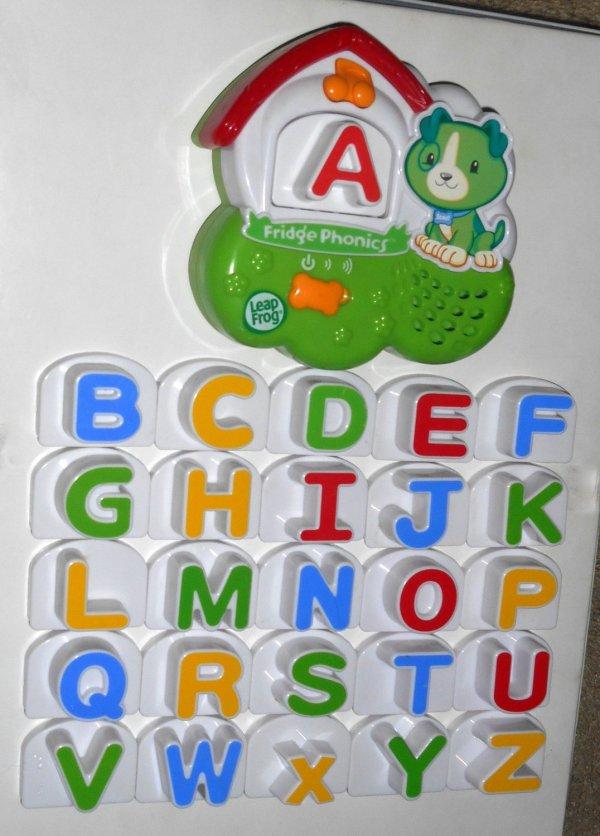 Leapfrog Fridge Phonics 20305 Complete Letters Set With Scout Dog Unit Leap Frog Magnetic