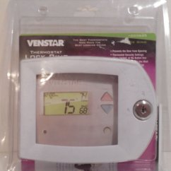Totaline Thermostat Wiring Diagram Intertherm Electric Furnace Venstar Acc0620 Locking Cover P374