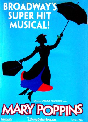 Image result for mary poppins the musical poster