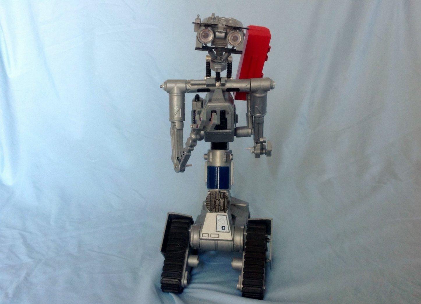 Johnny 5 Short Circuit 2 Toy Robot Replica Movie Prop