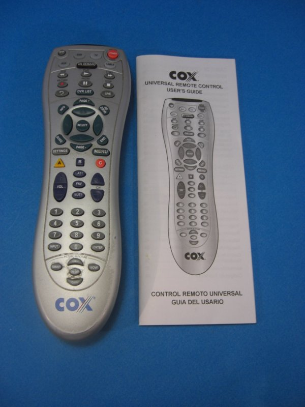 Cox Remote - Year of Clean Water