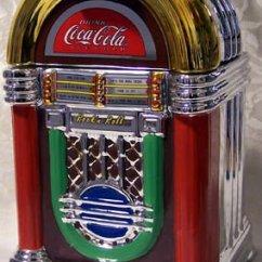 Industrial Kitchen Cart Toys R Us Kitchens Coca Cola Jukebox Cookie Jar