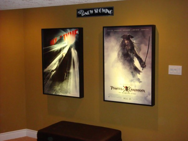Movie Theater Light Box Frames