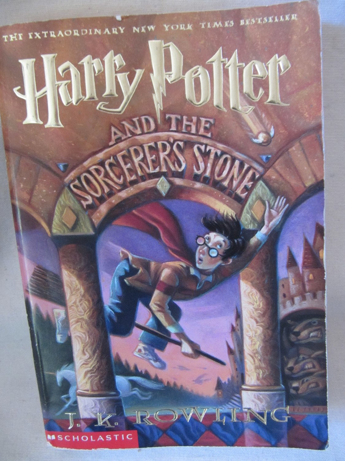 Harry Potter And The Sorcerer S Stone By J K Rowling