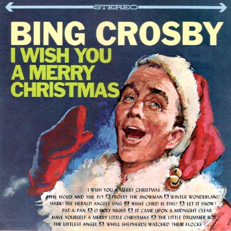 Bing Crosby I Wish You A Merry Christmas CD