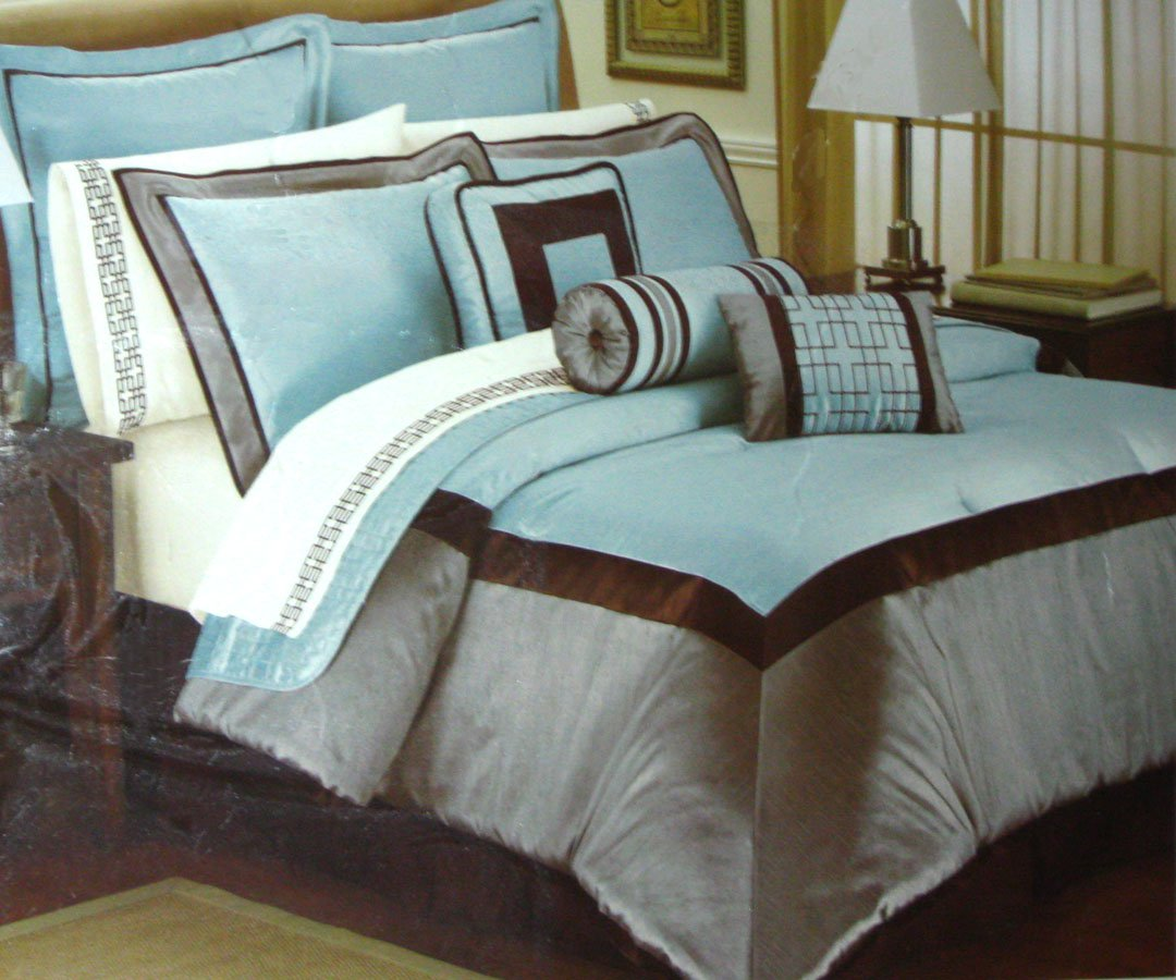 Kohls BIJOUX Queen Comforter Set HOTEL by PARK AVENUE 4