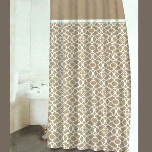 Glamorous Khaki Shower Curtain Shower Biji Us