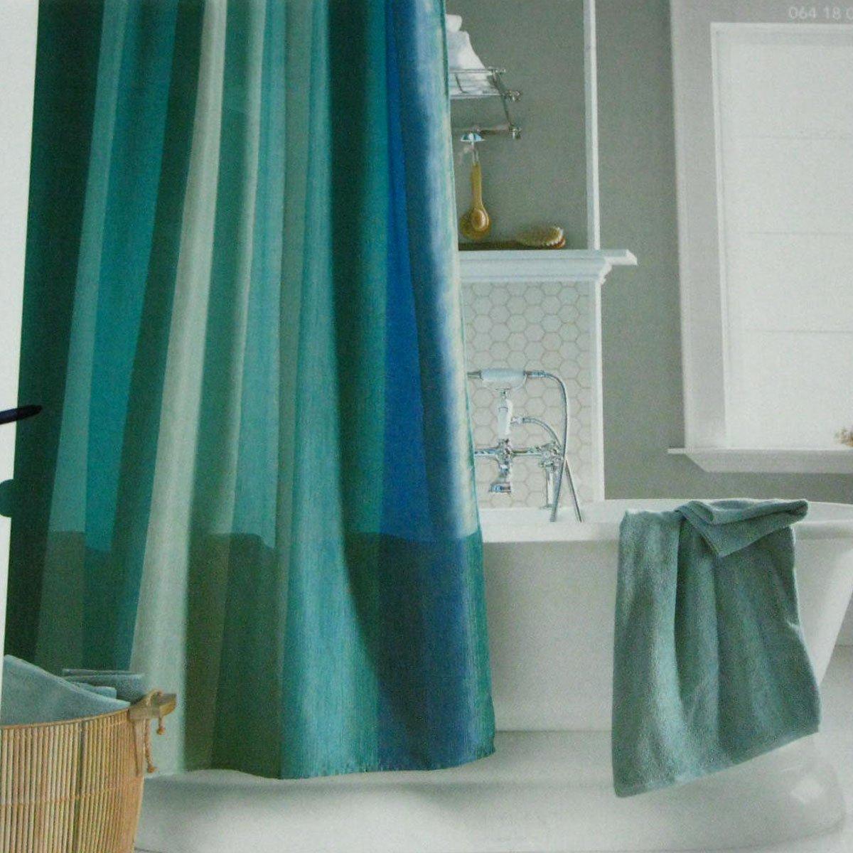 Target AQUAMARINE MULTISTRIPE BLUE Aqua Green Fabric