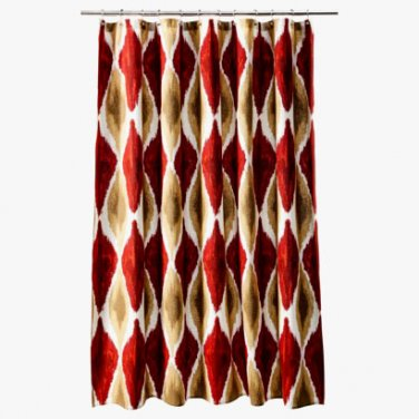 Red Shower Curtains Target Best Curtains 2017