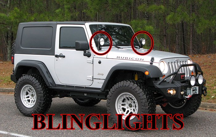 Off Road Lights Wiring Kits Jeep Jk Fog Light Wiring Harness