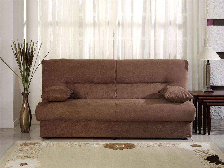 brown microfiber sofa bed grey leather corner argos regata with storage