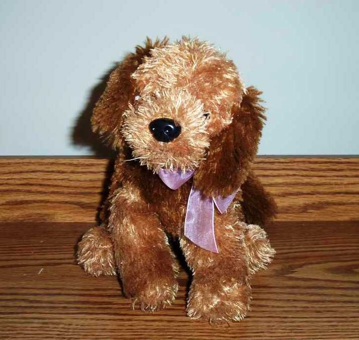 Dan Dee Collectors Choice Brown Dog Stuffed Plush Toy Used