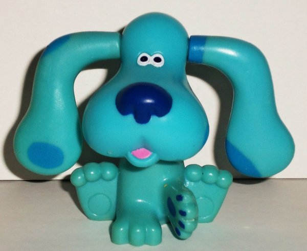 Subway 1999 Blue' Clues Blue With Flipping Ears Figure