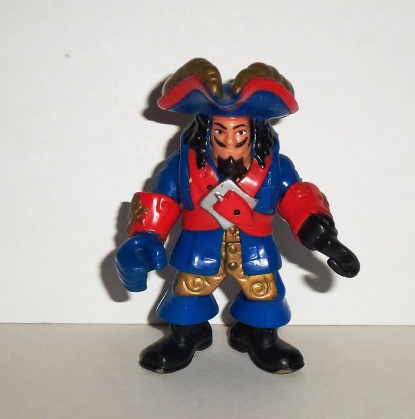 2006 Imaginext Pirate Captain With Hook