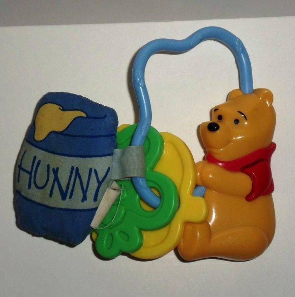 Years 2002 Winnie Pooh Teether Loose Used