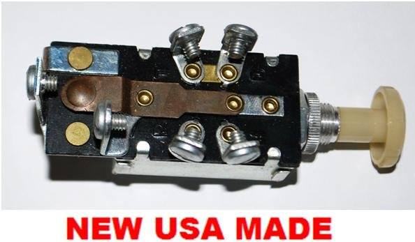 1940 Ford Headlight Switch Diagram