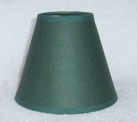 HUNTER GREEN Paper Mini Chandelier Lamp Shade