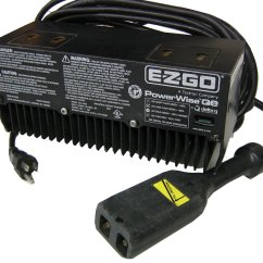 Ezgo Battery Wiring Diagram 2000 Vw Beetle Parts Ez-go 915-3610 Charger 36v Powerwise Qe G3610, With One Year Warranty, G3610