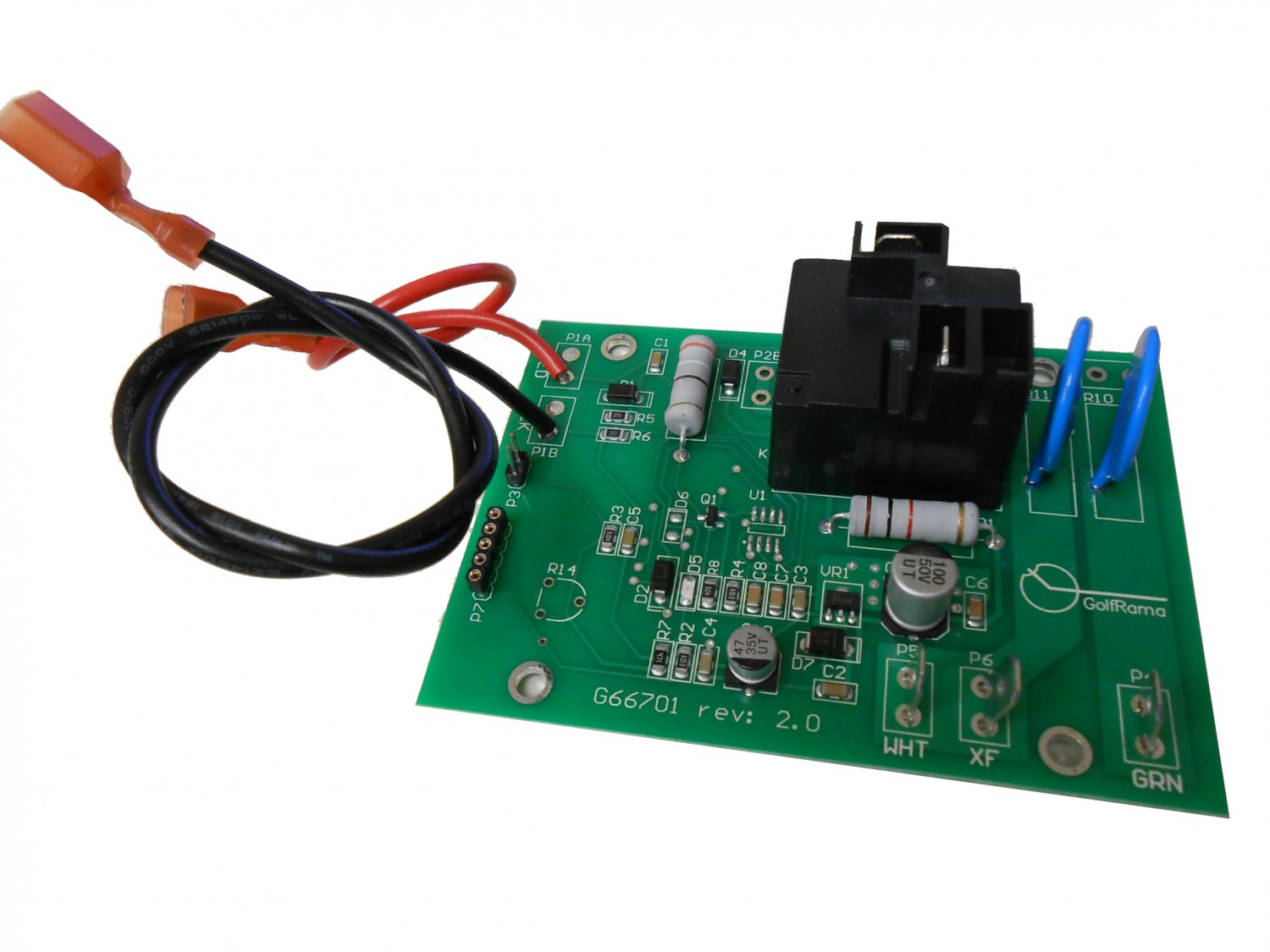 48 Volt Golf Cart Charger Wiring Diagram Ezgo Golf Cart Powerwise Charger Timer Control Input Board