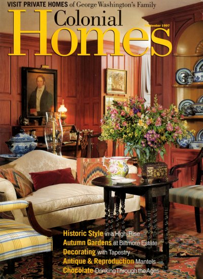 Colonial Homes Magazine  September 1997  Vol 23 No 5