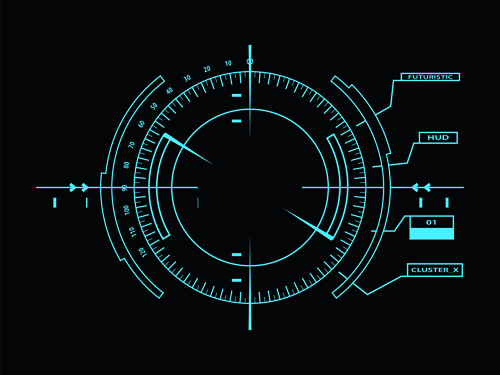 1920x1080 Hd Wallpaper Car Hud Dark Blue Futuristic Concept Background Vector 01 For Free