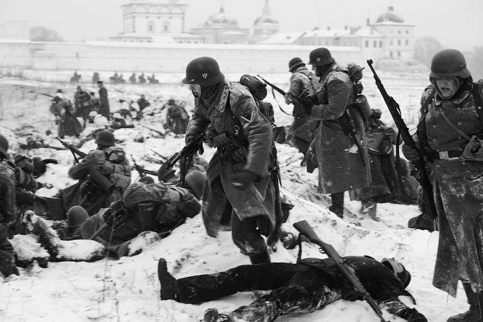 Битва за Москву война, доблесть