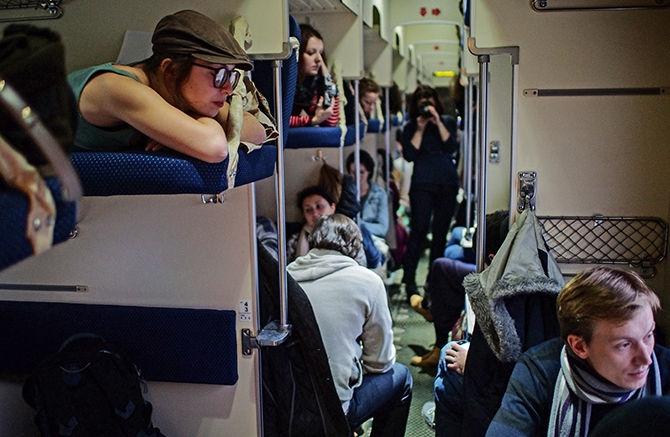 Путешествие в плацкарте: за и против  вагон, пассажиры, плацкарт