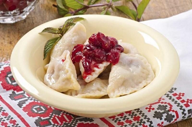 Вареники (Украина) блюдо, еда, туризм