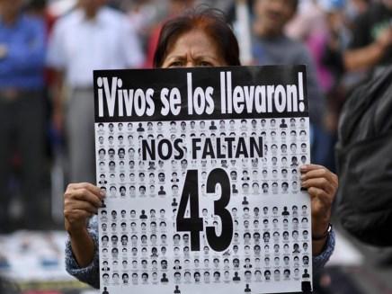 Los 43 estudiantes de Ayotzinapa cumplen cuatro años desaparecidos