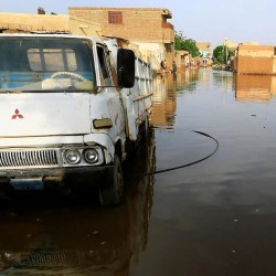 Record flooding leaves dozens dead, thousands homeless in Sudan