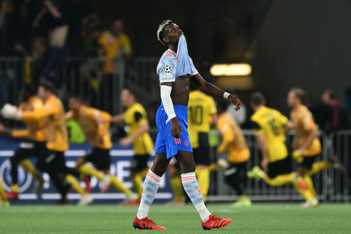 Young Boys strike late to stun Ronaldo's Man Utd in Champions League -  France 24
