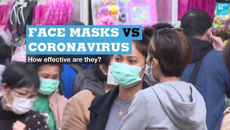 Face masks vs coronavirus: How effective are they?
