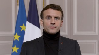 French president tells child sex abuse victims 'We believe you'
