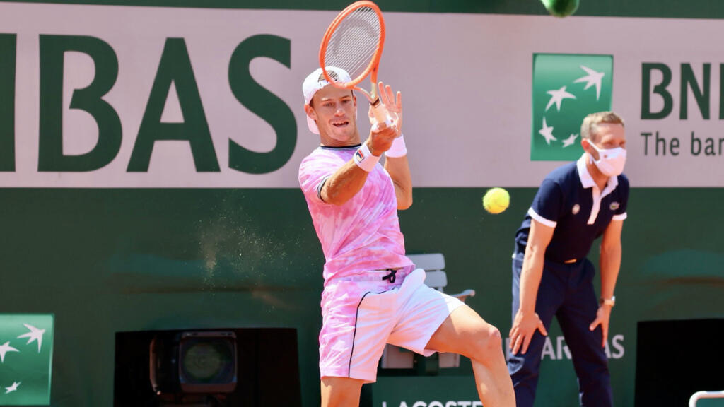 Diego Schwartzman made it to the quarterfinals and has not lost a single set so far.