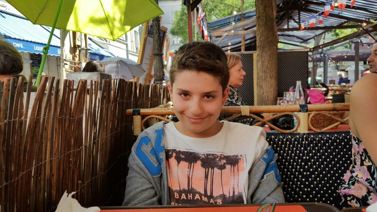Elias El Khoury, 15, was killed in the Beirut port explosion on August 4, 2020.